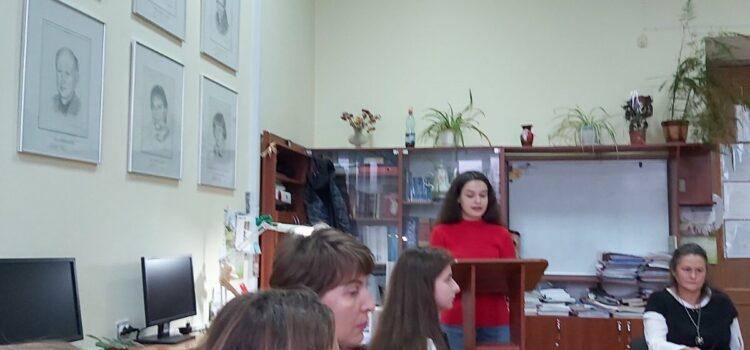 Засідання Круглого столу  на кафедрі англійської мови